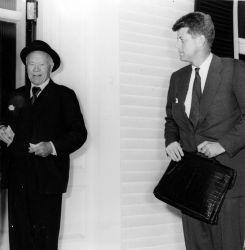 Lord Beaverbrook and John F. Kennedy