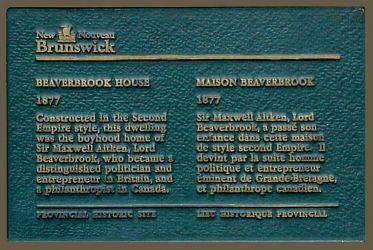 Provincial Historic Site Plaque