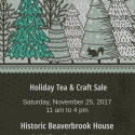Holiday Tea and Crafts Sale